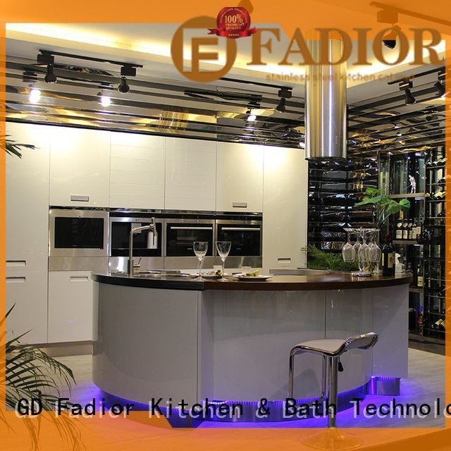 Hot stainless steel wall cabinets kitchen stainless Fadior Stainless Steel Kitchen Cabinets Brand