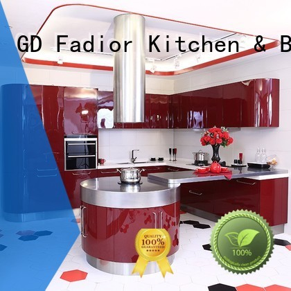 Fadior Stainless Steel Kitchen Cabinets Brand noble versailles metal kitchen cabinets design factory
