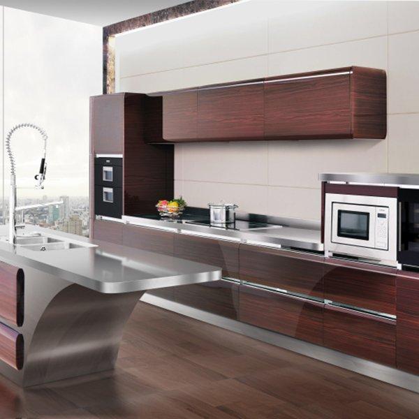X001 Raymond - Modular Kitchen Stainless Steel Countertop