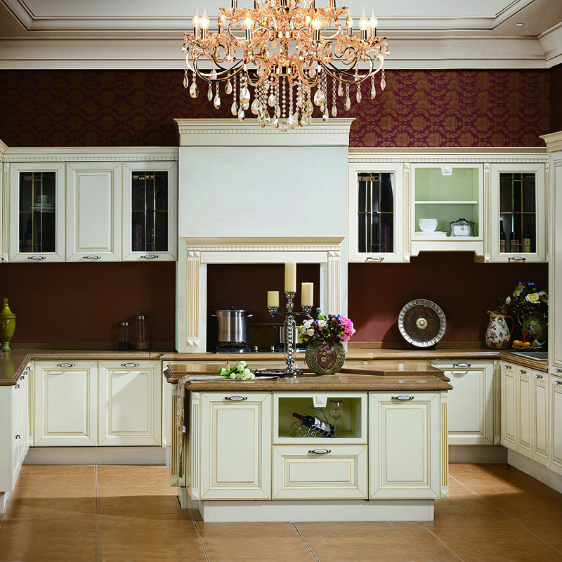 G006 Buckingham Palace - Premium European Kitchen with Gold Gilt