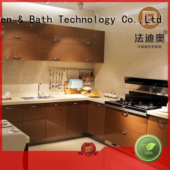 Quality stainless steel wall cabinets kitchen Fadior Stainless Steel Kitchen Cabinets Brand waltz metal kitchen cabinets