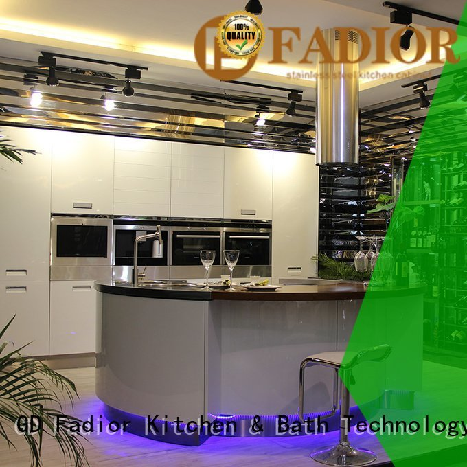 stainless steel wall cabinets kitchen countertop metal kitchen cabinets Fadior Stainless Steel Kitchen Cabinets Brand