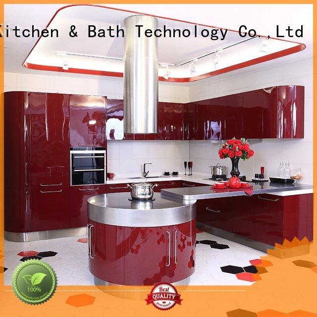 stone round burjal Fadior Stainless Steel Kitchen Cabinets Brand metal kitchen cabinets supplier