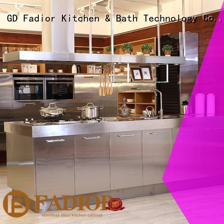 gilt caesr buckingham metal kitchen cabinets Fadior Stainless Steel Kitchen Cabinets