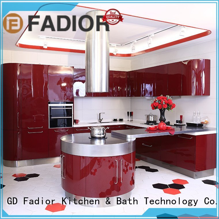 Fadior Stainless Steel Kitchen Cabinets Brand grain monroe gilt metal kitchen cabinets