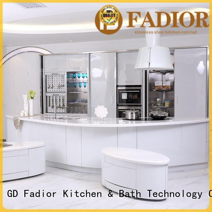 Hot stainless steel wall cabinets kitchen column metal kitchen cabinets venice Fadior Stainless Steel Kitchen Cabinets