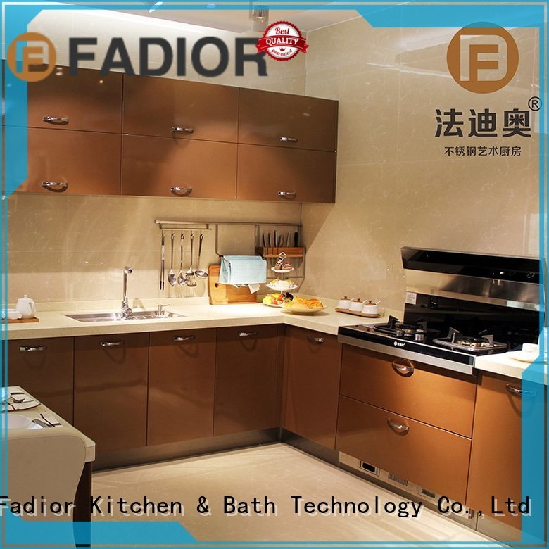 Fadior Stainless Steel Kitchen Cabinets Brand bbq thick premium custom stainless steel wall cabinets kitchen