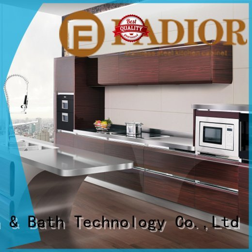 stainless ash Fadior Stainless Steel Kitchen Cabinets Brand metal kitchen cabinets