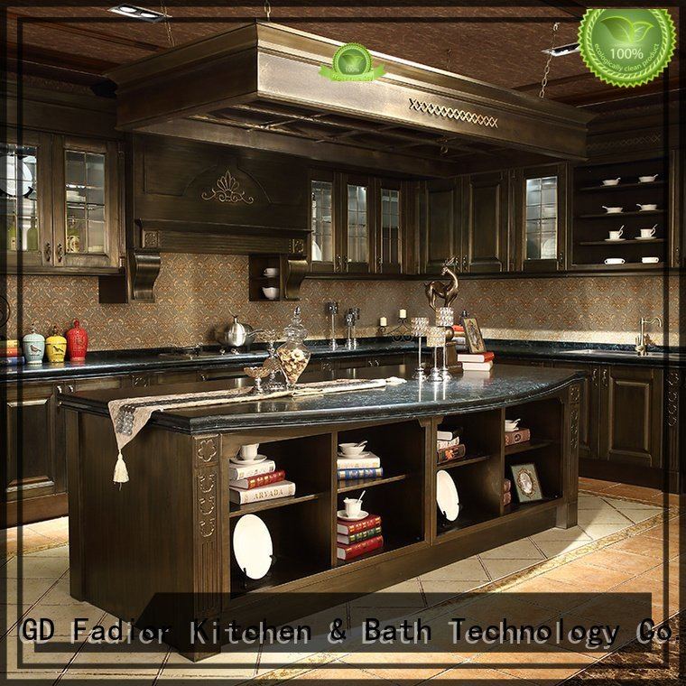 island ash stainless steel wall cabinets kitchen Fadior Stainless Steel Kitchen Cabinets