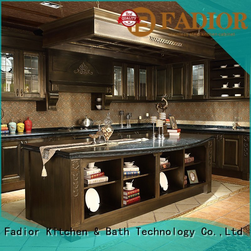 Hot stainless steel wall cabinets kitchen open curve grain Fadior Stainless Steel Kitchen Cabinets Brand