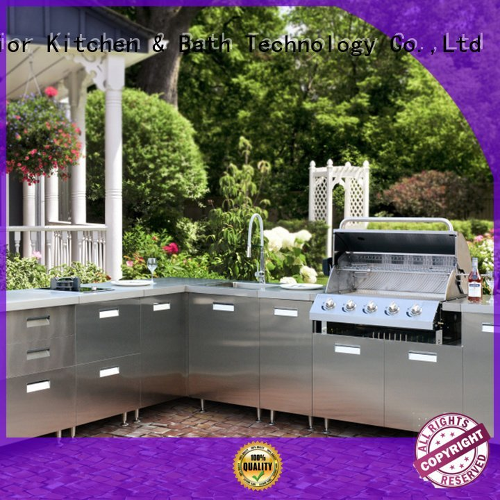 stainless steel wall cabinets kitchen luxury bbq Fadior Stainless Steel Kitchen Cabinets Brand
