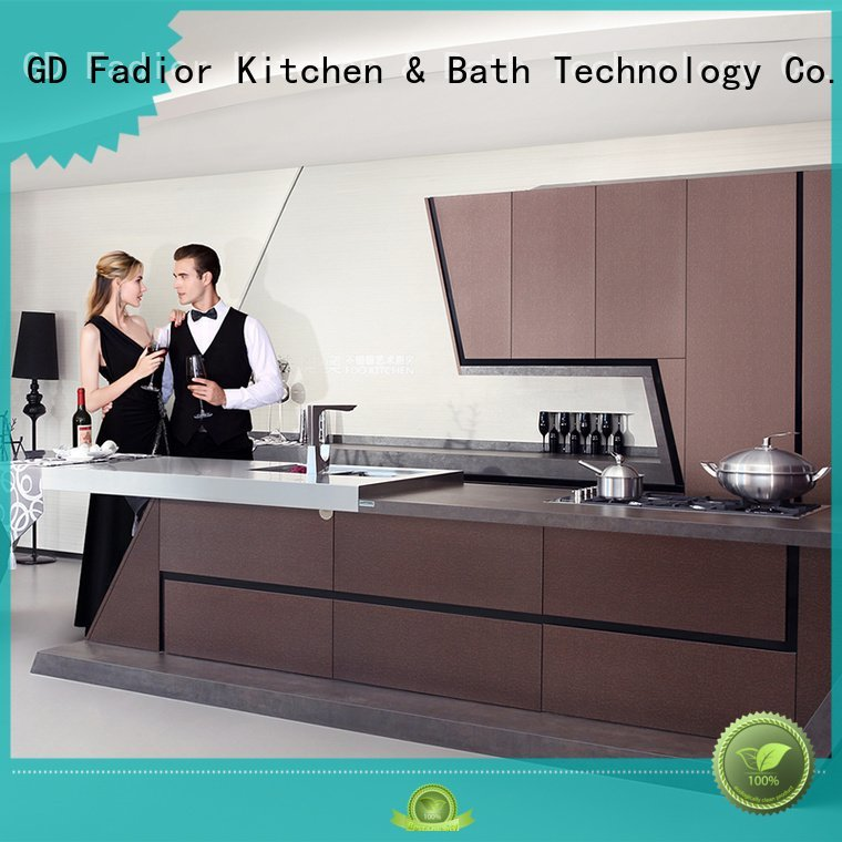 stainless steel wall cabinets kitchen grain beige Fadior Stainless Steel Kitchen Cabinets Brand