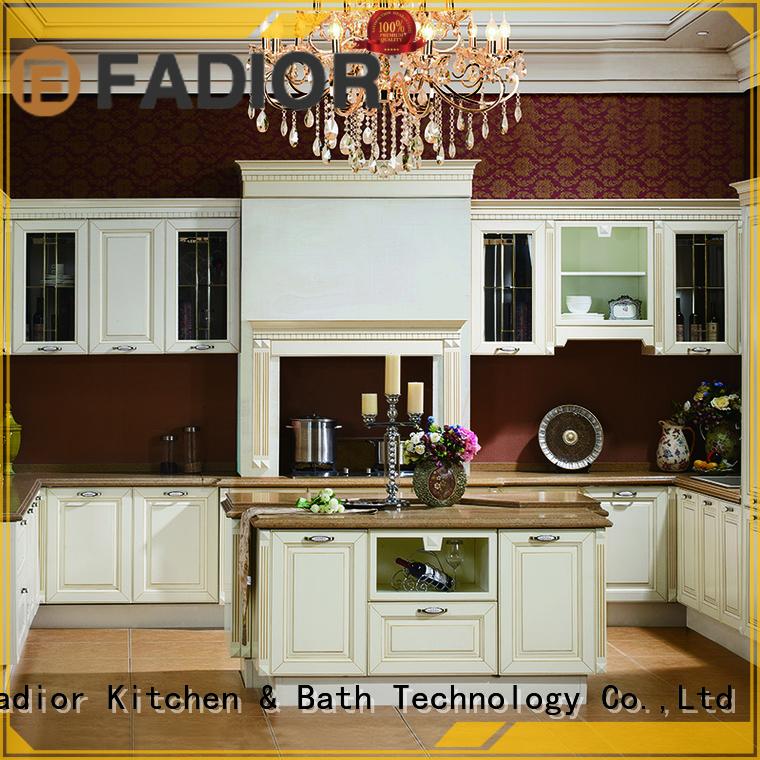 european modern Fadior Stainless Steel Kitchen Cabinets Brand stainless steel wall cabinets kitchen factory