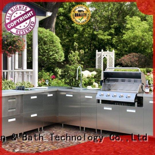 rose steel Fadior Stainless Steel Kitchen Cabinets stainless steel wall cabinets kitchen